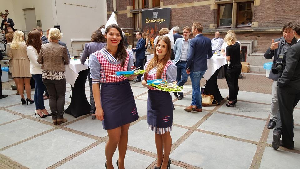haringparty organiseren meisjes dames